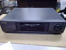 Sharp Vc-H942U 4 Head HiFi Mts Stereo Vhs Hq Vcr Video Cassette Player Recorder