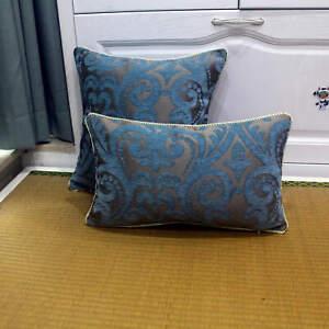 45×60 Flocking Pillow Luxury/Plaid/Elegant/Flower/Home/Sofa/Car Cushion /Pillows