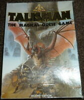 Games Workshop Talisman Board Game - 2nd Edition 1985