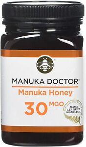 MANUKA DOCTOR, MANUKA HONEY, 30 MGO, Pure Tested Certified New Zealand 500G,