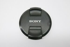 For Sony 77mm Front Lens Cap Center Pinch Buckle Camera Plastic OEM