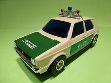 LUCKY 3169 VW VOLKSWAGEN GOLF - POLIZEI POLICE - 1:20? - RARE SELTEN - VERY GOOD