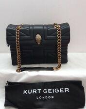 ☆ KURT GEIGER LONDON Kensington Leather Union Jack Shoulder Bag RRP £239
