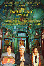 THE DARJEELING LIMITED (2007) ORIGINAL MOVIE POSTER  -  ROLLED  -  DOUBLE-SIDED