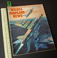 1956 Aug Vintage Model Airplane News USA Aeromodelling Hobby Magazine   (109)
