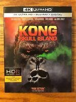 Kong: Skull Island, 4K Ultra HD, Blu-ray, Digital HD, Brand New, FAST FREE SHIP!