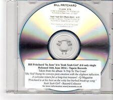 (FP166) Bill Pritchard, In June / Yeah Yeah Girl - 2014 DJ CD