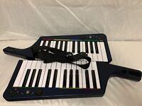 Rockband 3 Playstation Keytar 2 Wireless Keyboards Harmonix 1 Strap NO DONGLE