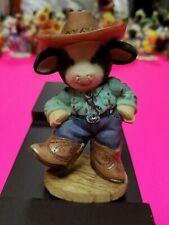 Mary Moo Moos Figurine - I Was Barn To Dance