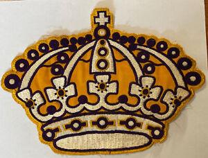 "Vintage Retro NHL Hockey Los Angeles Kings Jersey Patch Crest Logo 10"""