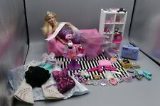 Barbie Doll TOP MODEL Articulated Fashionista Furniture Accessories Large Bundle