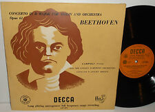 LXT 2674 Beethoven Violin Concerto Alfredo Campoli LSO Josef Krips O/G