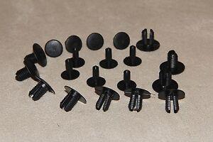 100pcs 8mm MERCEDES BENZ Clips Rivets- Interior Trim Panels, Carpet&Linings