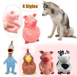 Teasing Sound Squeaker Molar Training Doy Toy Pig Grunting Squeak Latex Chew Ho