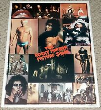 ROCKY HORROR PICTURE SHOW Movie Collage Poster 1975 Dargis Tim Curry