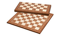 High quality FOLDING tournament size Wood chess board Bonn 50 mm - 2 inch