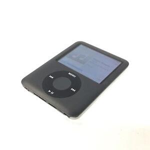Apple iPod Nano 3rd Generation 8GB Black 2007 #460