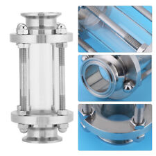 """1.5"""" Flow Stainless Steel 304 Tri Clamp Sanitary Sight Glass 1.6 MPa HighQ"""