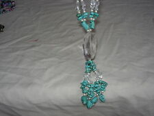 large stunning gemstone necklace wow wow ln3