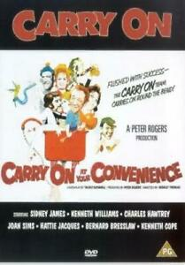 Carry On at Your Convenience DVD (2001) Sid James, Thomas (DIR) cert PG
