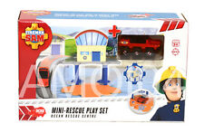 Fireman Sam Mini-Rescue Play Set Ocean Rescue Centre & Truck Buggy New