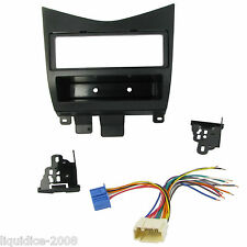 CT24HD04 HONDA ACCORD 2003 to 2007 BLACK SINGLE DIN FASCIA FACIA ADAPTOR PANEL .
