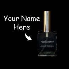 New Refillable Custom Laser Engraved Perfume/Cologne Empty Glass Bottle