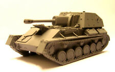 Milicast BR14 1/76 Resin  WWII Russian  SU76M (Early Version) Tank Destroyer