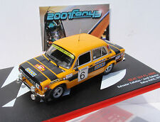 SEAT 124 FL 1800 #6 CAÑELLAS RACE 1977 1/43 ALTAYA IXO