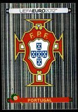 Panini Euro 2012 (Swiss Platinum Edition) Badge (Portugal) No. 253