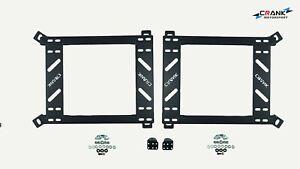 1x Crank BMW E36 E46 Seat adapter rail ssuit BRIDE RECARO SPARCO