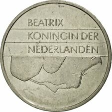 [#542708] Munten, Nederland, Beatrix, Gulden, 1994, ZF, Nickel, KM:205