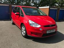 2008 FORD S-MAX LX TDCI 6G MPV MANUAL 2.0 DIESEL 7 SEATER DRIVE AWAY