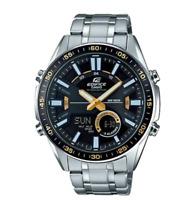 Casio Watch  Edifice Original EFV-C100D-1B Ana-Digi Display Black +Original Box