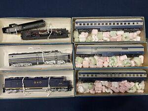 HO Scale Trains Athearn Model Railroad Lot Of 6 NR