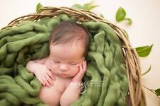 Olive Green Basket Filler Suffer Newborn Photography Prop RTS UK seller