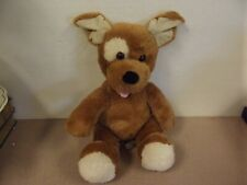 Vintage Build A Bear Plush Puppy Dog Stuffed Animal Stuffed with Hugs 14""