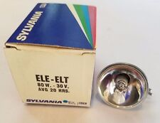 Sylvania ELE ELT 30V 80W Halogen Projector Lamp Projection Light Bulb ELE/ELT