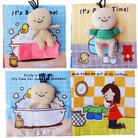 Libro Di Stoffa Morbido In Tessuto Per Bambini Giocattoli Educativi Precoci Per
