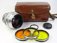 1962 made !! Early silver Helios 40 1.5/85mm M42 M39. Kit. s/n 624127.