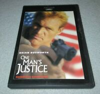 One Mans Justice (DVD, 1999) *RARE oop