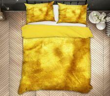 3D Golden Platinum Nao416 Bed Pillowcases Quilt Duvet Cover Set Queen King Fay