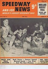 BELLE VUE / KEN LAST IPSWICHSpeedway News Aug311955