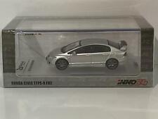 Honda Civic Type R FD2 Silver 1:64 Scale Inno Models IN64FD2SIL