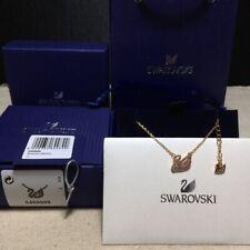 Swarovski ICONIC SWAN pink swan pendant Necklace jewelry