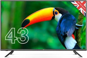 """Cello C4320DVB/ZBVD023 43"""" inch Full HD LED TV with built-in Freeview HD 2020"""