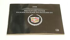 2008 CADILLAC ESCALADE NAVIGATION SYSTEM OWNERS MANUAL USER GUIDE ESV EXT 6.2L