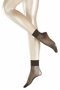 Falke Womens Pure Matte Transparent 20 Denier Anklet Tights - Anthracite Grey