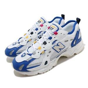 New Balance 827 White Blue Yellow Grey Men Unisex Lifestyle Shoes ML827AAP D
