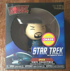 Star Trek SPOCK Vinyl Collectible Funko Limited Chase Edition Dorbz 400